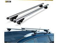 M-Way 135cm Aero Dynamic Lockable Aluminium Roof Rack Rail Bars for Ford Kuga