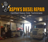 Aspyn's Diesel Repair Heavy Duty Mechanic Shop