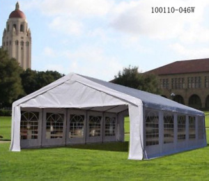 HEAVY DUTY 32x16FT Large Carport Canopy Wedding Event Party Tent