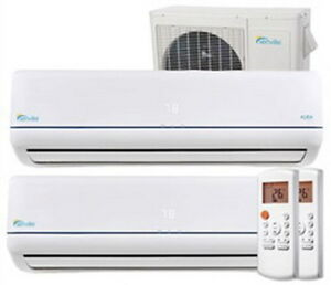 28000 BTU Dual Zone Air Conditioner & Heat Pump- even at -30°C !