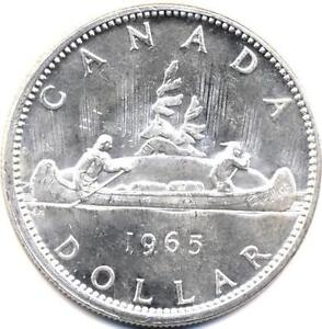1967 and earlier Canadian Silver Dollars & Silver 50 Cent Pieces