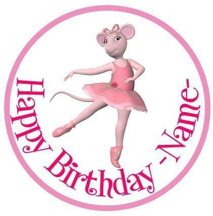 Angelina ballerina cake ebay for Angelina ballerina edible cake topper decoration sale