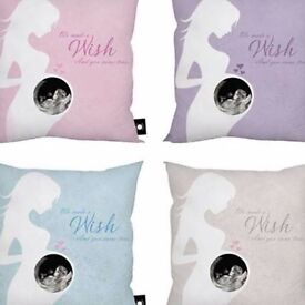 BABY SCAN PHOTO CUSHION' - ADD YOUR OWN PHOTO!
