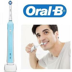 NEW ORAL B RECHARGEABLE TOOTHBRUSH PRECISION 1000 TOOTHBRUSH SENSITIVE GUM CARE 102448347