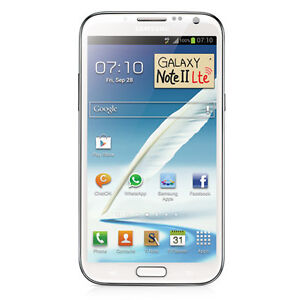 NEW SIM FREE FACTORY UNLOCKED SAMSUNG GALAXY NOTE II LTE N7105 WHITE PHONE