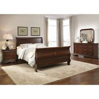 NEW PRICE MUST GO! Carriage Court 3 Piece Sleigh Bedroom Set