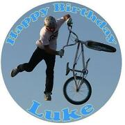 BMX Cake Topper