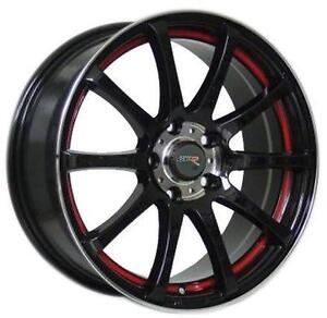 17 inch GT-R Racing Wheels -- 4 styles to CHOOSE!! 5x114.3