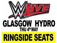 GLASGOW - WWE RINGSIDE WRESTLING TICKETS- GLASGOW HYDRO 04/05/17 6:30pm