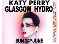 KATY PERRY TICKETS-GLASGOW SSE HYDRO-STAGE STANDING TICKETS-Sun 24th JUNE -