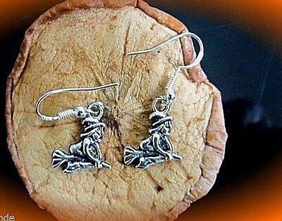 süße HALLOWEEN hexen ohrhänger edelstahl silber 925 sweet little minx 1