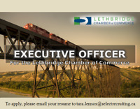 Executive Officer for the Lethbridge Chamber of Commerce