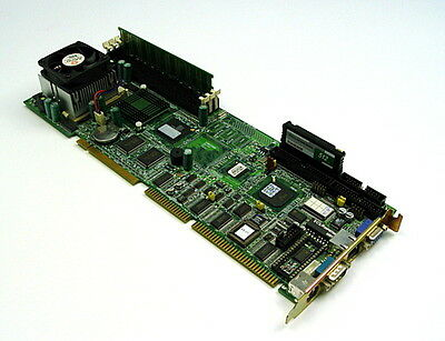Advantech Pca-6178 Sbc Single Board Computer Pentium Rev. A1 Intel Celeron B1