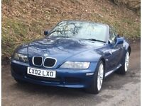 BMW Z3 1.9 - WIDE BODY 2002 CONVERTIBLE SOFT TOP