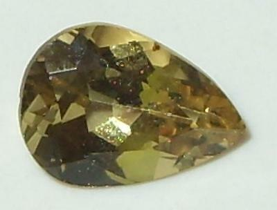 1.27ct Valuable Natural Tanzanian Gold To Gold Green C/S Chrysoberyl Pear