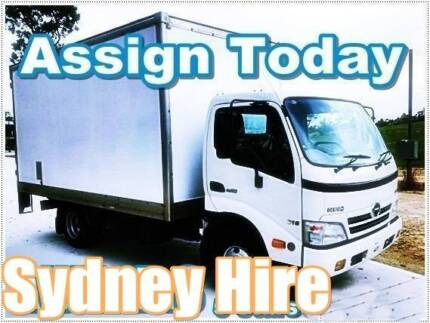 NSW / Sydney Truck Hire (With the Driver) / Removalist