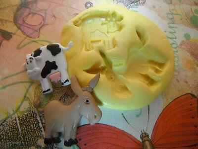 Глинистые формы Cow and Donkey Flexible