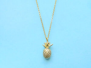 Sweet, Pineapple, Gold, Pineapple, Fruit, Food, Necklace