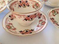 Beautiful Royal Abert Imari Style Tea Service