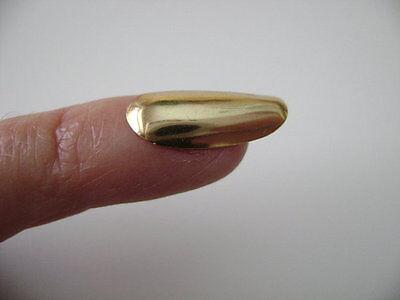 BNIB *9 CARAT SOLID GOLD FINGER NAIL* Genuine 1970's 80's Vintage Hallmarked ❤
