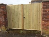 All types of wooden garden gates only quality heavy duty