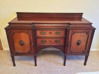 SALE - Sideboard Buffet Chiffonier Dresser Storage Unit Beautiful Large Solid 2 Drawers 2 Doors