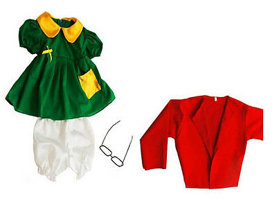 La Chilindrina Costume For Child - Halloween Costume - Mexican Character - Child