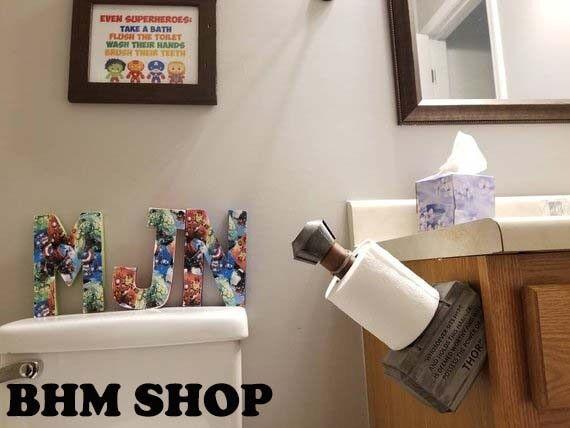 Hammer Toilet Paper Holder For Avengers