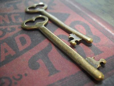 Skeleton Keys Bulk (Skeleton Key Pendants Bronze Keys Steampunk Keys Bulk Skeleton Keys Lot 5/12/25)