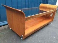 1960s G Plan Tulip teak and glass Coffee Table. Vintage / Retro / Mid Century