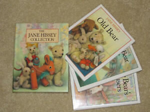 Jane Hissey Collection Box Set of 3 Little Bear Hardcover 1990
