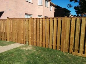 Fence Replacement/Installation - Affordable Rate