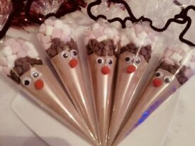 Reindeer hot chocolate