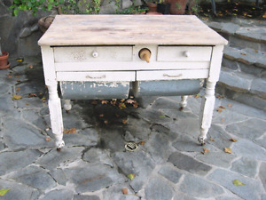 Looking for vintage/antique bakers table
