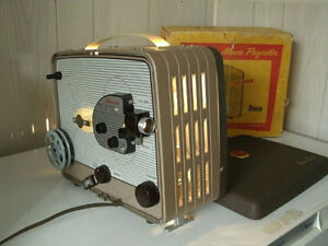 Looking for a working 8mm reel projector