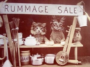 Sasha's cat rescue garage sale