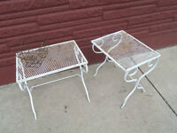 Wrought Iron Table and Chair Set