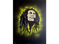 OTTO SCHADE - 'BOB MARLEY' - HAND SIGNED ARTIST'S PROOF (print. picture. Banksy urban art Int)