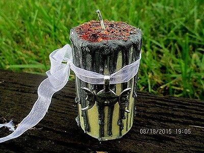 Moon Goddess Candle ~ Witchcraft Candle ~ Wicca Spell Candle ~ Witchcraft Supply