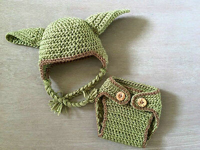 borene Baby Yoda Hut + Hose  Kostüm  Foto - Shooting (Baby Yoda)