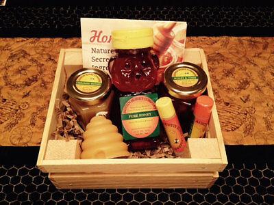 Austin Honey Co. - Honey Sampler Basket