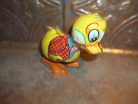 Collectible Vintage Tin Litho Wind Up Toy Chick Mikuni Japan
