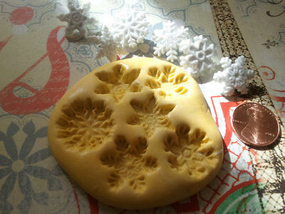 Глинистые формы Miniature Snowflake Silicone Mold-for