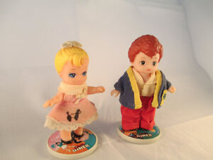 Vintage Tyco Dixie Diner little dolls 1960's London Ontario image 1