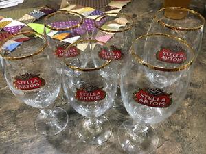 6 Stella Artois Glasses Edmonton Edmonton Area image 1