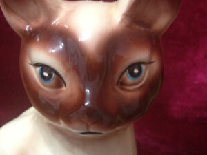 Siamese Cat Planter by Gift Craft, Japan Kingston Kingston Area image 2
