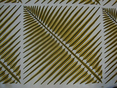 Quadrille Fabric China Seas Bahama Palm Linen Drapery Upholstery PLCK #1 segunda mano  Embacar hacia Argentina