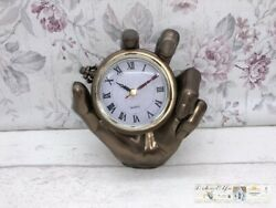 Watch Floor Clock Hand Decoration Vintage Country House