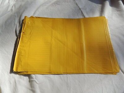 50 Yellow 7.5x 10.5 Flat Poly Mailers Shipping Postal Envelope Bags Wself Seal