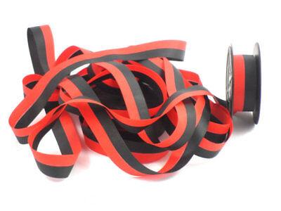 3- Pk For Less Vintage Portable Manual Royal Typewriter Spool Ribbon Black Red